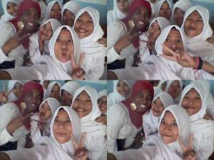 Pics with Students